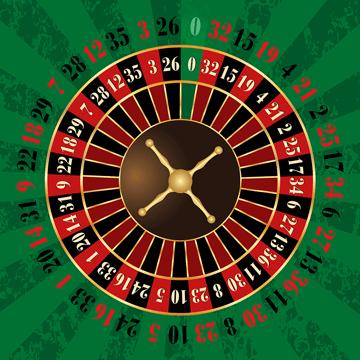 rueda numeros de ruleta europea