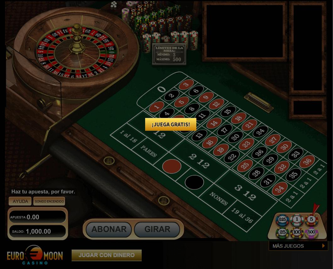 jugar a la ruleta gratis en linea