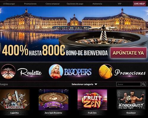 casino bordeaux bono