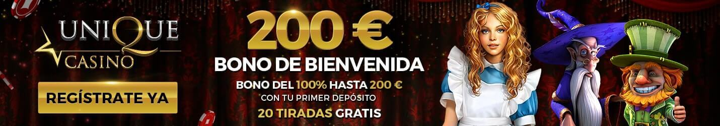 Unique Casino Ruleta Gratis Cabezera