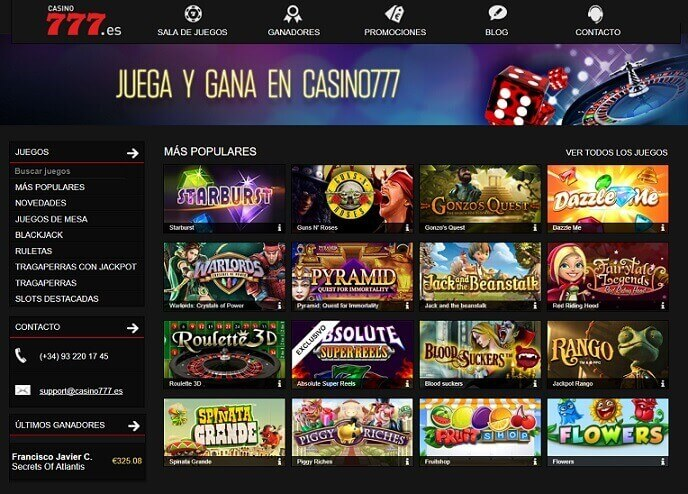 casino777 analisis