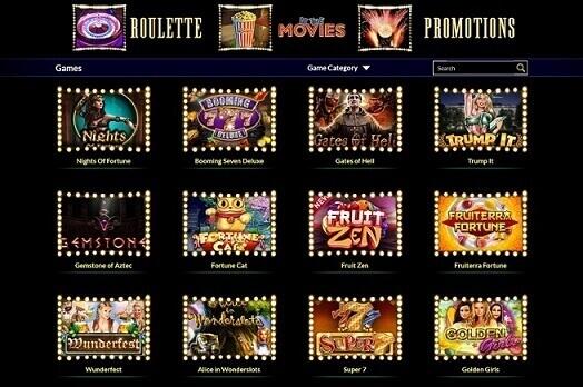 Times Square Casino juegos