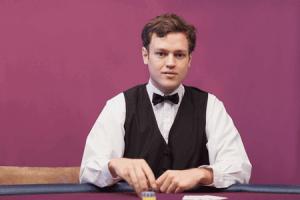 crupier de ruleta de casino online