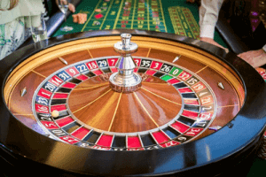mesa de simulador de ruleta de casino