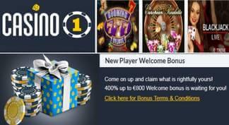 Bonos de bienvenida Casino 1
