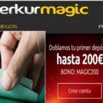 Obtenga 200 euros en Merkurmagic por primer depósito