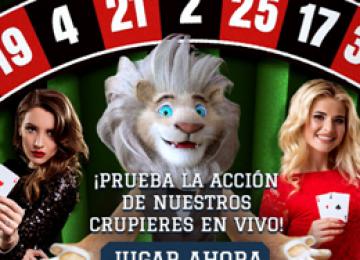 Casino en vivo White Lion